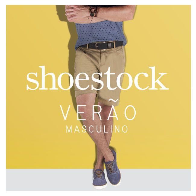 Azul para o verão! #shoestock #modaparaeles #formen #tenis   Ref 20.03.0829