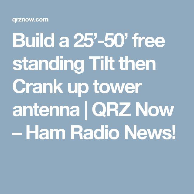 Crank Up Ham Towers – Jerusalem House