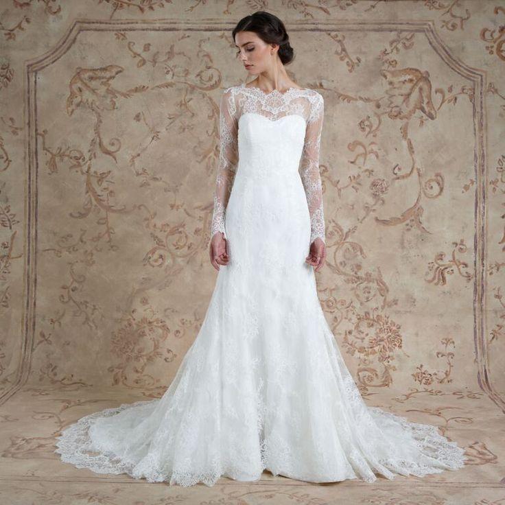 Miriam #weddingdress from Sareh Nouri fall 2016 wedding dresses   itakeyou.co.uk: