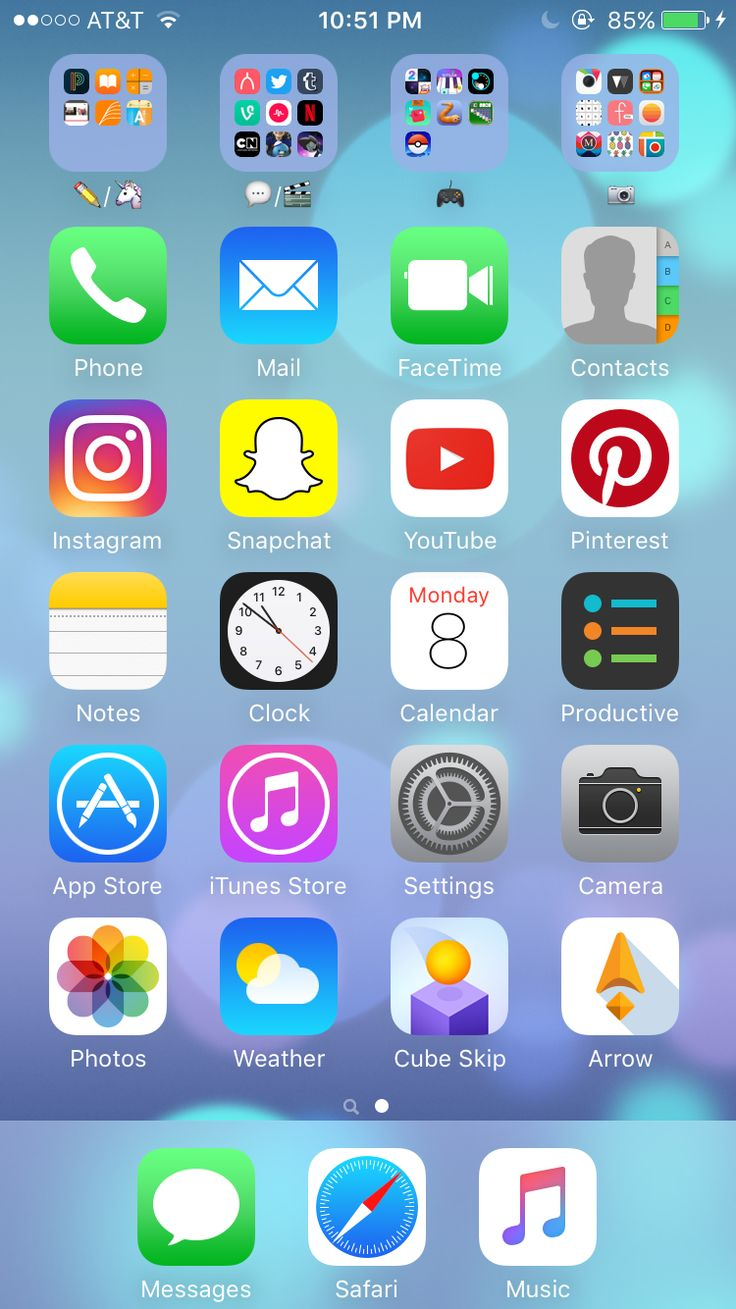 The 15 best iphone apps & organization images on Pinterest | Iphone layout, Apps and Homescreen