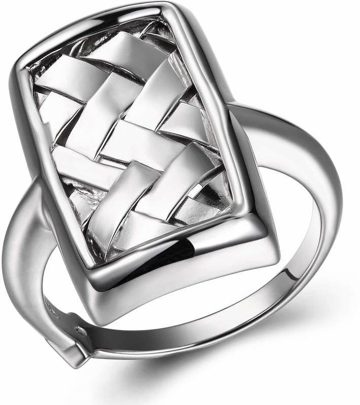 One of the most unique pieces we carry! Sterling silver basket weave ring - just $75 at www.BillyTheTree.com