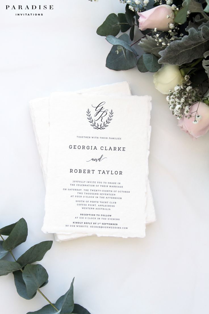 18 best thank you cards images on pinterest thank you cards Wedding Invitations South Perth modern wedding invitation sets, indie paper, calligraphy wedding invitations by paradiseinvitations South Perth Map