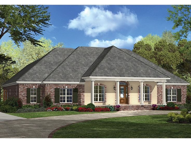 eplans european house plan charming french country ranch 2900 square feet and 4 bedrooms - French Country Ranch House Plans