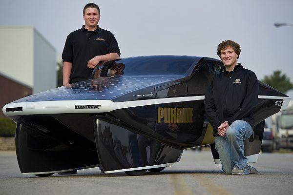 Purdue Solar Racing Team's Celeritas prototype delivers 2,200 mpg ...