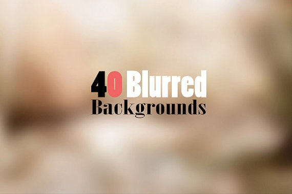 40 Premium Blurred Backgrounds by ONESMFA on Etsy, $8.00
