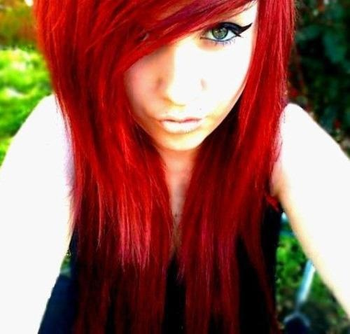 I just really like bright, red hair.