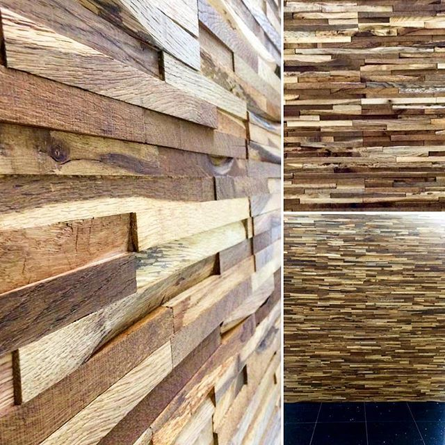 Our Eco-Friendly Fingerjoint Reclaimed Oak Wall Panels have arrived and look brilliant up in our #Belfast store!! If your looking for that quirky and unique wall feature, give your nearest store a shout! #thewoodenfloors #wood #reclaimed #ecofriendly #fingerjointoak #wallfeature #smoked #oiled #funky #quirky #unique #different #standout #thewoodenfloorstore #glasgow #edinburgh #paisley #falkirk #thewoodenfloorcompany #belfast #lisburn