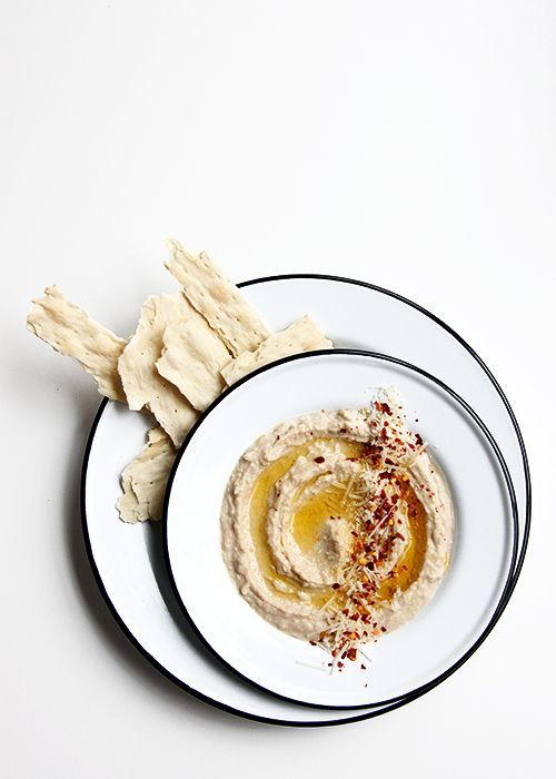 Italian White Bean Hummus | @The Fauxmartha