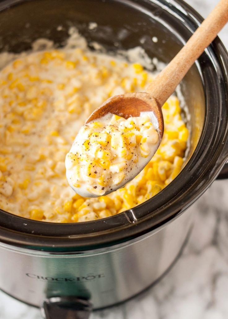 How To Make Creamed Corn in the Slow Cooker — Cooking Lessons from The Kitchn