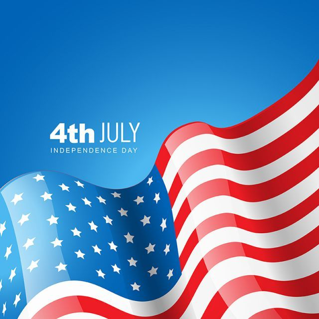 4th Of July American Flag Of Independence Day Vector Background Banner Blue Png And Vector With Transparent Background For Free Download Independence Day American Flag Independence Day Background