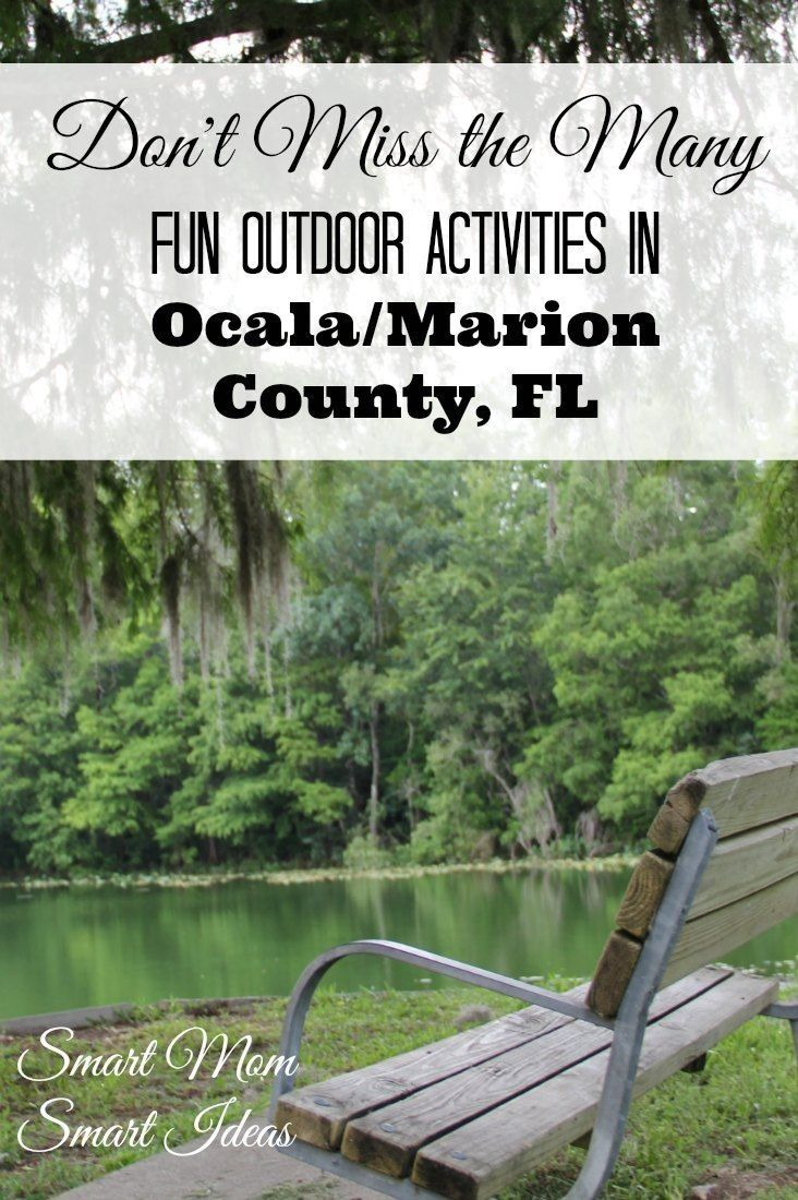 Spring activities | Outdoor fun | Ocala, FL | Marion County, FL via @smartmomideas #ad, #ocalamarion