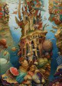 Włodzimierz Szpinger - Obraz z cyklu 'Dom Okeanosa', 2011 rok, olej na płótnie, 165 cm x 110 cm