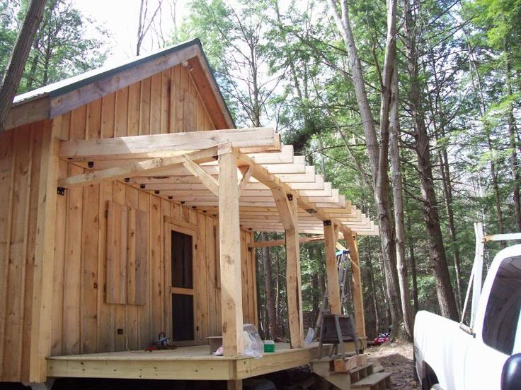 180 best images about porch ideas on pinterest for 20x24 cabin plans