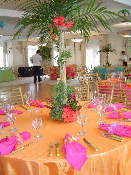 Best 25+ Luau table decorations ideas on Pinterest   Luau ...