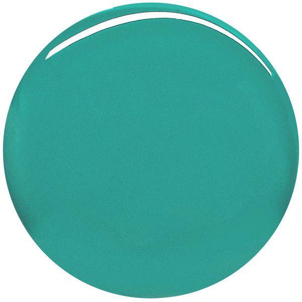 Burberry Beauty Nail Polish - Aqua Green No.418 ($22) ❤ liked on Polyvore featuring beauty products, nail care, nail polish and burberry