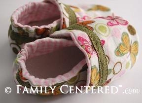 free baby shoes pattern & tutorial