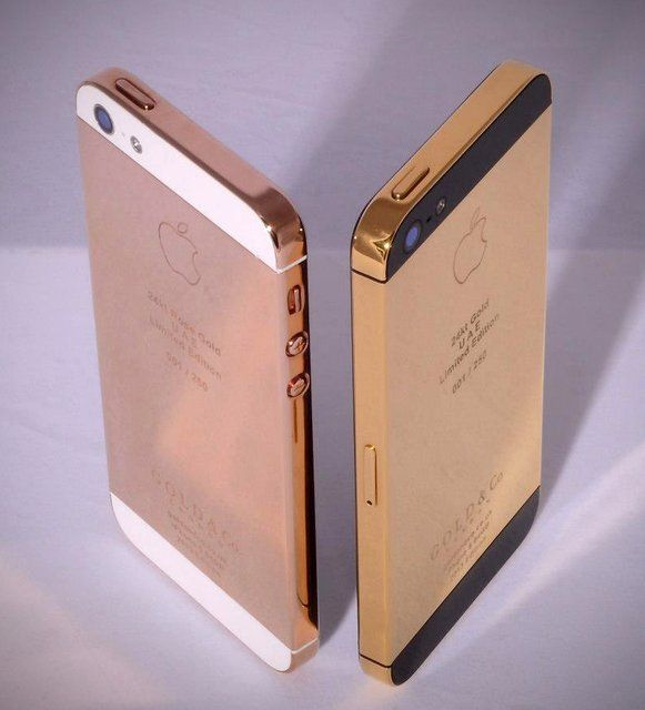 Iphone 5s Cases Gold 24K Gold iPhone...