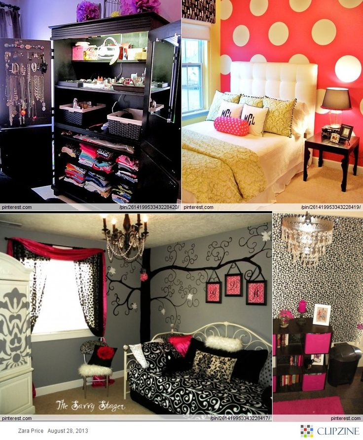 Love the dresser and the polka dot walls