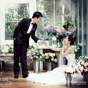 i LOVE Korean wedding photoshoots.