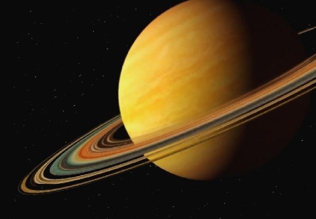 Сатурн-шестая планета от Солнца