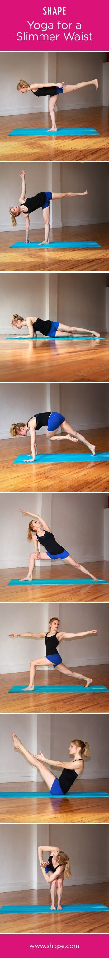 Eight poses to a trimmer tummy!