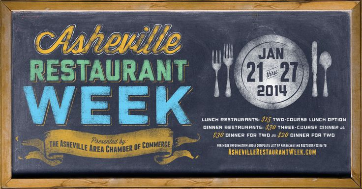 A Guide to Asheville Restaurant Week