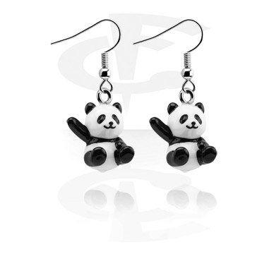 Ohrringe mit Pandas (Acryl)   Crazy Factory Modeschmuck Online Shop