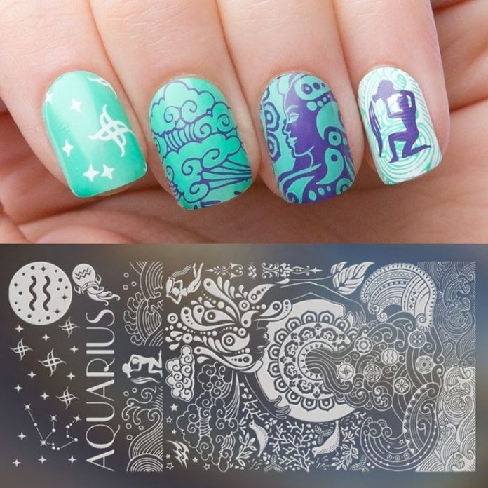 New Fab Aquarius Nails Ideas For 2019 Stylish F9 Nails Beauty Nails Nail Art