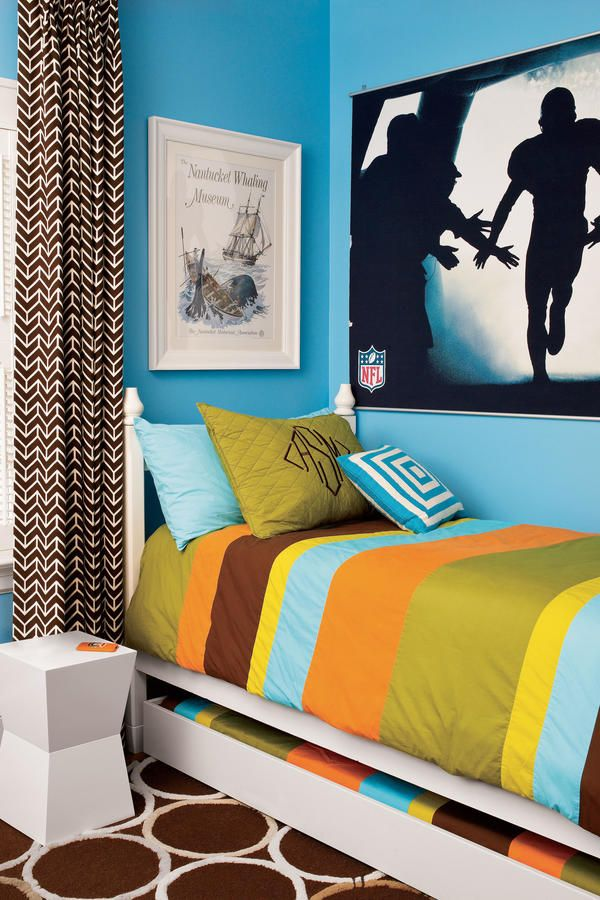 260 best images about bedrooms on pinterest house tours the guest and guest rooms - Beautiful boy room ...