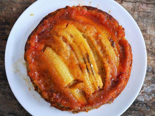 le meilleur gâteau à la banane et caramel