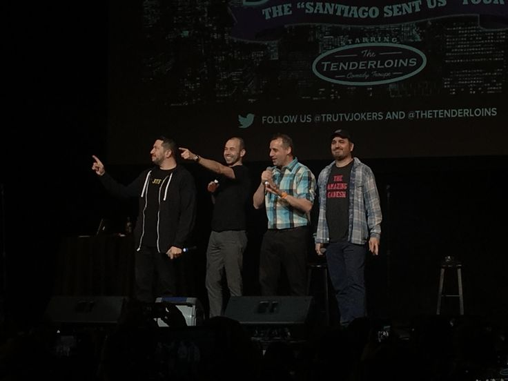 My girlfriend took me to see the Impractical Jokers Live for one of my Christmas Gifts today! We both had a blast