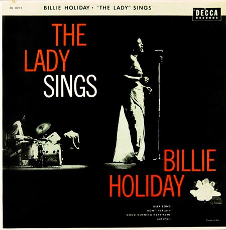 Billie Holiday: Blue Girls, Billy Holidays, Jazz Albums, Billli Holidays, Girls Generation, Decca Records, Lady Singing, Albums Covers, Billy Holliday