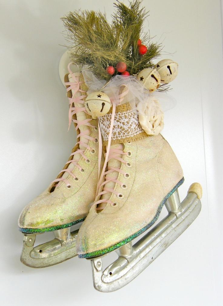 новогодние картинки с коньками