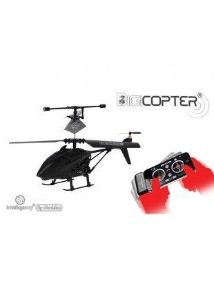 Hélicoptère télécommandé par smartphone.  http://www.phonewear.fr/9411-thickbox/modelco-helicoptere-pilote-via-smartphone.jpg 39,90€