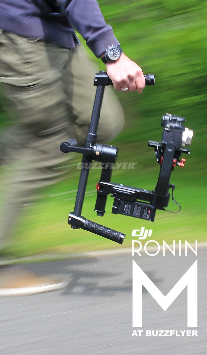 DJI Ronin M handheld camera gimbal for GH4