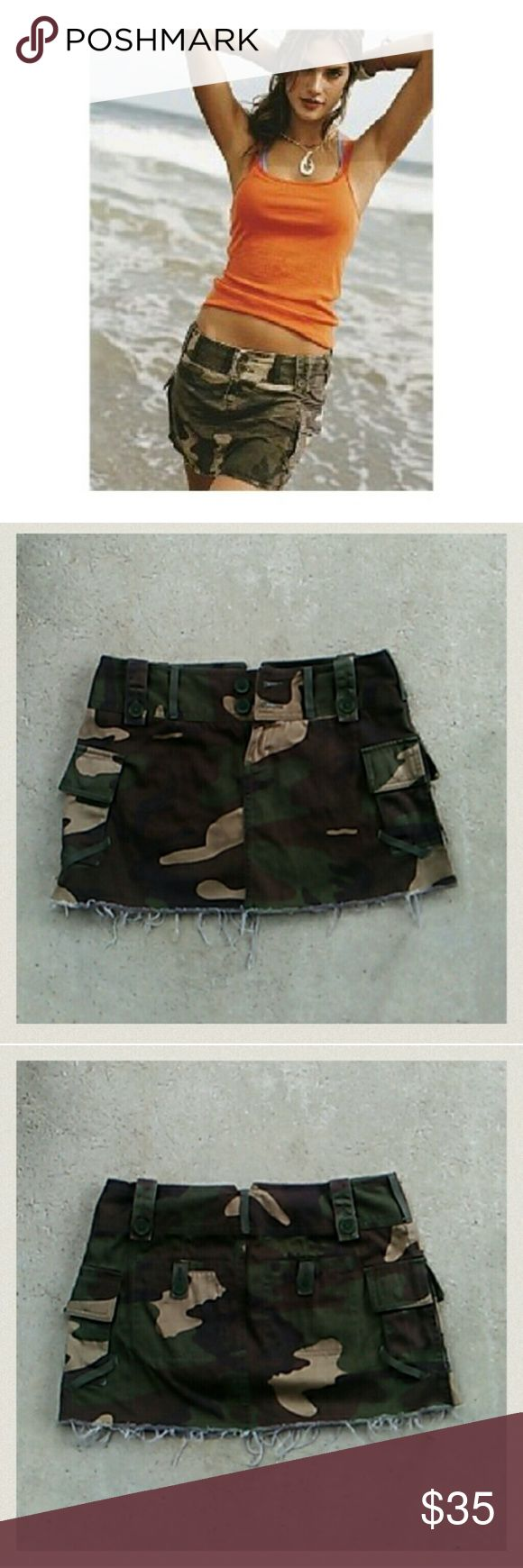 NWOT LONDON LINE BY VICTORIA'S SECRET CAMO SKIRT -NWOT CAMO MINI SKIRT BY VICTORIA'S SECRET LONDON JEAN LINE  -PERFECT FOR SUMMER!!!!  -TOTALLY CUTE & SEXY WITH HEELS/ SNEAKERS/ SANDALS/ FLIP FLOPS OR BAREFOOT!!!! Victoria's Secret Skirts Mini