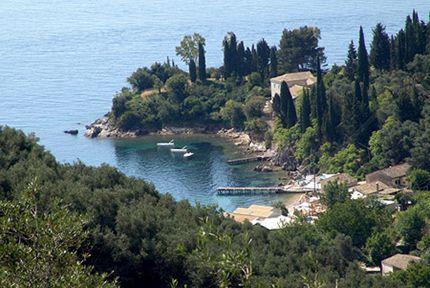 Agni Bay, Corfu