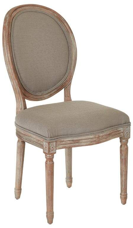 Ophelia & Co. Haleigh Oval Back Upholstered Dining Chair ...