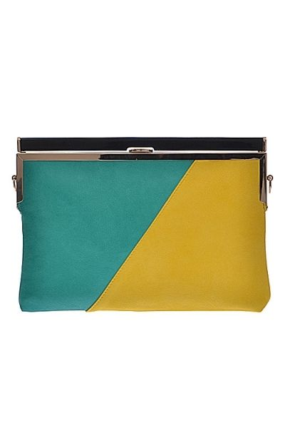 Retro Two-Toned Clutch · Nique's Online Boutique · Online Store Powered by Storenvy