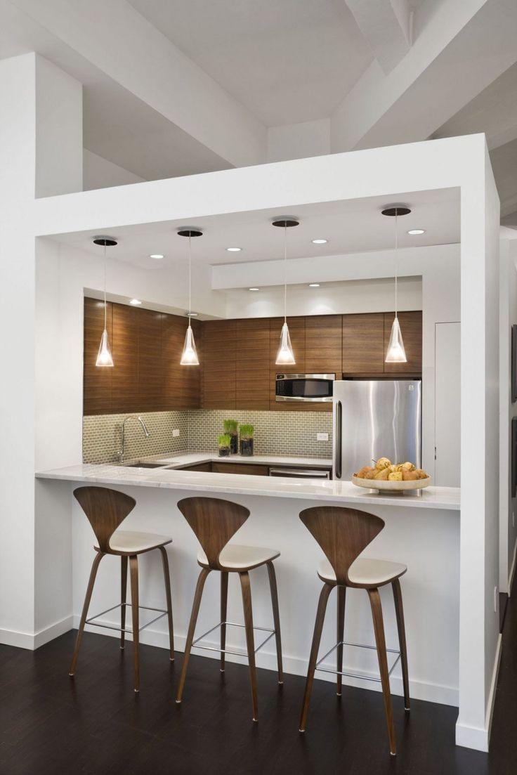 Modern small kitchen design - 65 Amazing Small Modern Kitchen Design Ideas