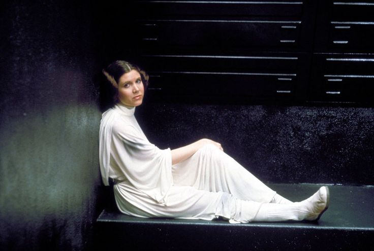 To me, she is royalty. RIP Carrie Fisher