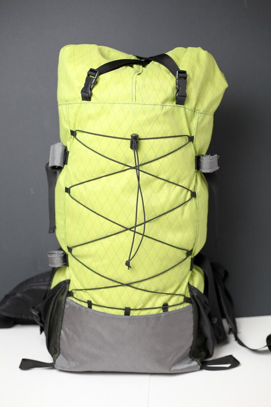 DIY Backpacking pack, I wish I was this good.