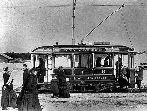 HRO 6 Töölö-Kaivopuisto, Helsinki, early 20th century