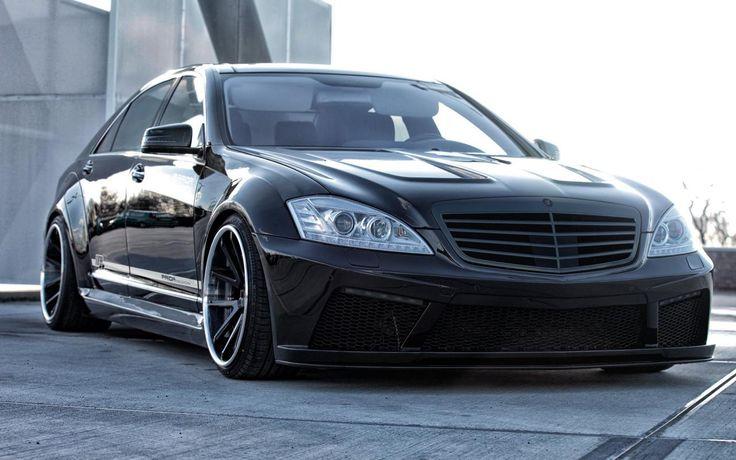 Mercedes-Benz S-Class (W221) Black Edition V2 by Prior Design