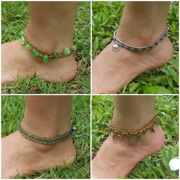 Thai Hill Tribe Anklets