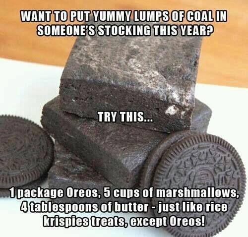 Coal! For the Polar Express Party