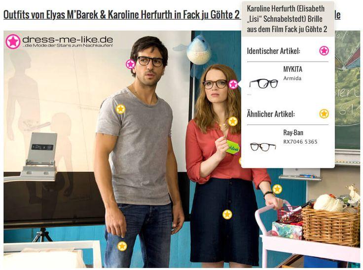 """Karoline Herfurth (Elisabeth """"Lisi"""" Schnabelstedt) Brille (MYKITA) aus dem Film Fack ju Göhte 2"""