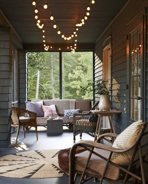 Could This Spring Night Be Any More Perfect? (: Monica Buck) By  Countrylivingmag