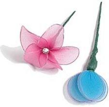 How to Make Nylon Flowers