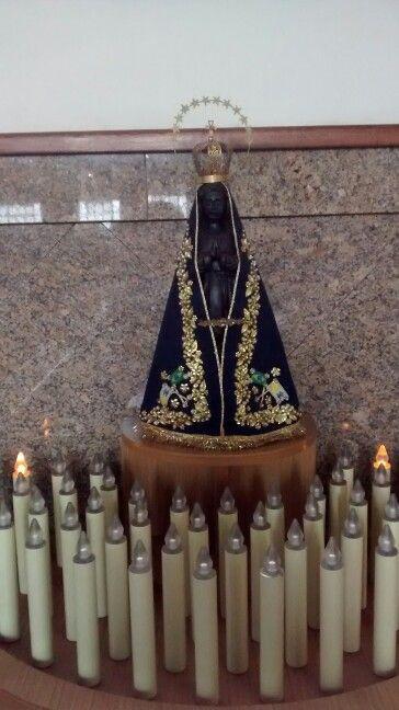Nossa Senhora de Aparecida/ Igreja Nossa Senhora de Fátima Vl Leopoldina/ São Paulo BR 08/2017